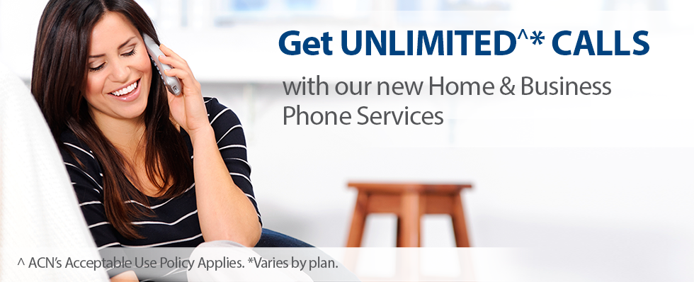 Fantastic new Home & Business Phone Only Plans with Unlimited^ Call Inclusions!