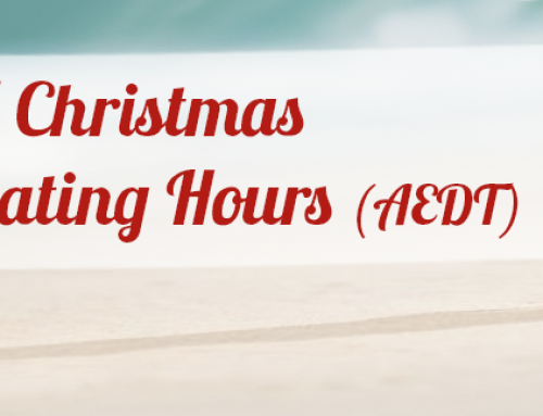 ACN Christmas and New Year Operating Hours