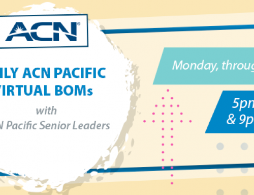 Daily ACN Pacific Virtual BOMs