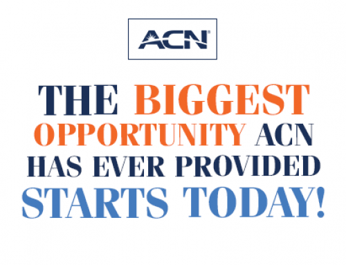 The BIGGEST Opportunity ACN has ever provided starts TODAY!